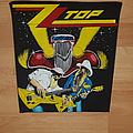 ZZ Top Backpatch for T.R.A.D.E.