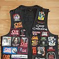 New Patches on my  Tribute Ozzy Vest