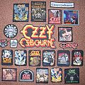 Ozzy Osbourne Patch Collection