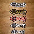 Ozzy Osbourne logo Patches