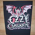 Ozzy Osbourne Backpatch