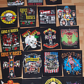 Guns N' Roses Backpatch collection