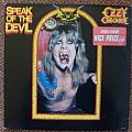 Ozzy Osbourne,Speak of the Devil - LP