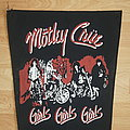 Mötley Crüe - Patch - Mötley Crüe Backpatch