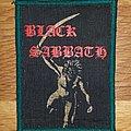 Black Sabbath - Patch - Black Sabbath Paranoid Patch on the way to nelson