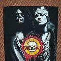 Guns N'Roses - Patch - Guns N'Roses Backpatch