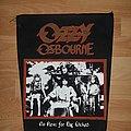 Ozzy Osbourne - Patch - Ozzy Osbourne Backpatch