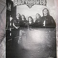 Bolt Thrower poster collection Other Collectable