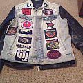Battle Jacket with leather jacket