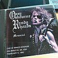 Randy Rhoads Tape / Vinyl / CD / Recording etc