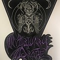Mortuary Drape - Leather Backpatch