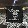 Venom - Black Metal  (All Silver)  Patch