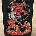 Venom - Cronos on Fire backpatch