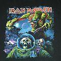 Iron Maiden Final Frontier Aussie tour shirt