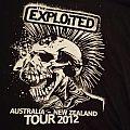 The Exploited 2012 Australian Tour shirt