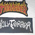 Holy Terror Logo Patch