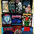 Death metal back patches
