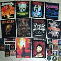 sepultura woven patches