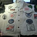 Battle Jacket - White Denim