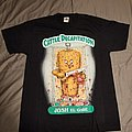 Cattle Decapitation Garbage Pail Kids shirts Size Large