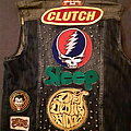 Grateful Dead - Battle Jacket - Jam band doom metal vest