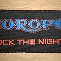 Europe - Rock the night - Patch