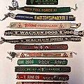 Wacken Open Air - Other Collectable - Wristbands Wacken, Rock Am Ring, Earthshaker, Metal Frenzy, Rockfels, Metalfest,...