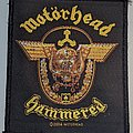 Motörhead - Hammered - Patch