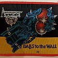 Accept - Balls to the wall (red border) - Patch