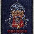 Alchemy - Mad Manx Reptile Biker - Patch