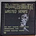 Iron Maiden - Patch - Iron Maiden - Wasted years - Patch