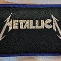 Metallica - Patch - Metallica - Logo - purple border - Patch