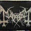 Mayhem - Patch - Mayhem - Logo - Patch