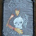 Alice Cooper - Patch - Alice Cooper - Skull jacket - Patch strong used