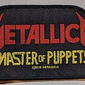 Metallica - Patch - Metallica - Master of puppets - Patch
