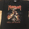 Manowar - TShirt or Longsleeve - Manowar - Hell On Stage / European Tour 1998 TS