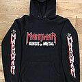 Manowar - Hooded Top - Manowar - Kings Of Metal Hoodie