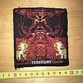 Sepultura - Territory Patch OG 1993