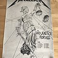 Metallica - Other Collectable - Metallica - ... And Justice For All 80's Tour Poster