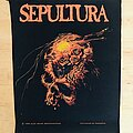 Sepultura - Patch - Sepultura - Beneath The Remains 1990 Backpatch