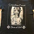 Carpathian Forest - TShirt or Longsleeve - Carpathian Forest - Sluts Of Hell TS