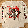 Napalm Death - TShirt or Longsleeve - Napalm Death - Nazi Punks Fuck Off LS