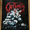 Obituary - Other Collectable - Obituary - Pile Of Skulls 93' Poster Flag