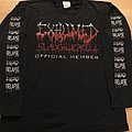 Exhumed - Slaughtercult Official Member LS