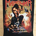 Manowar - Patch - Manowar - Agony And Ecstasy 1994 Backpatch