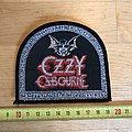 Ozzy Osbourne OG vintage Patch