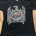 Slayer - TShirt or Longsleeve - Slayer - European Campaign 1990 TS