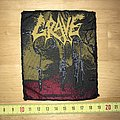 Grave - You'll Never See Patch OG 1993