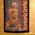 Iron Maiden - Patch - Iron Maiden - Somewhere In Time Vintage Patch