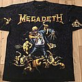 Megadeth - TShirt or Longsleeve - Megadeth - 1991 All Over Print TS